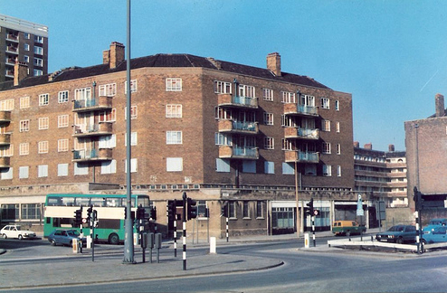 Fontenoy Gardens as was.
