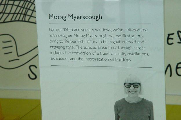 The artist, Morag Myerscough.