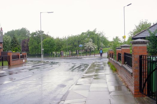 Into Smithdown Lane. The streets getting a good washing down.