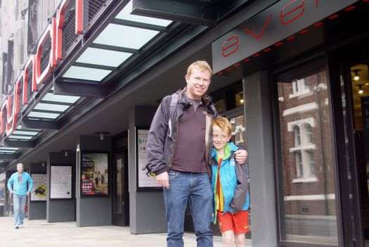 So it's time for rob and Frank's first visit to our newly rebuilt and reopened Everyman.