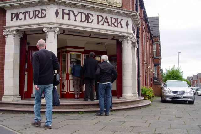 Into the Hyde Park Picture House.