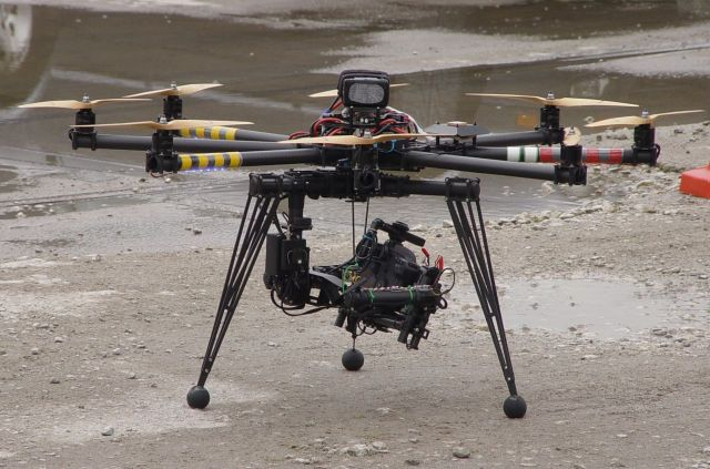 The flying camera.