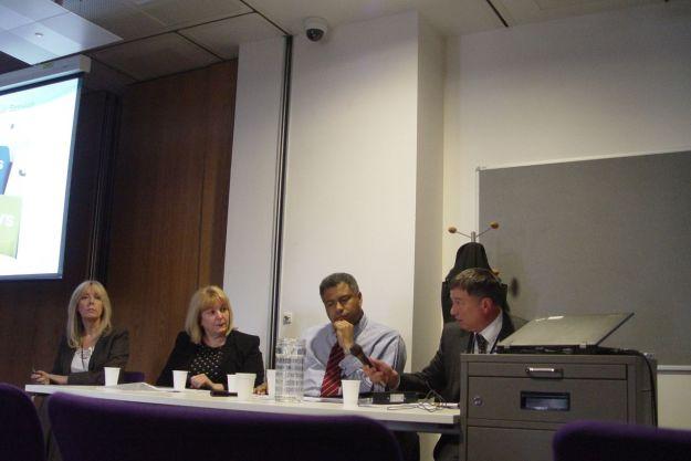 Louise Gray, Wendy Simon, Ron Odunaiya and John Keane.