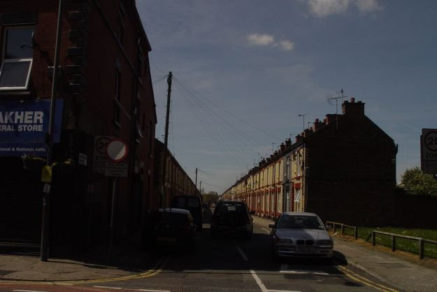 Astbridge Street, stretching all the way to Granby.