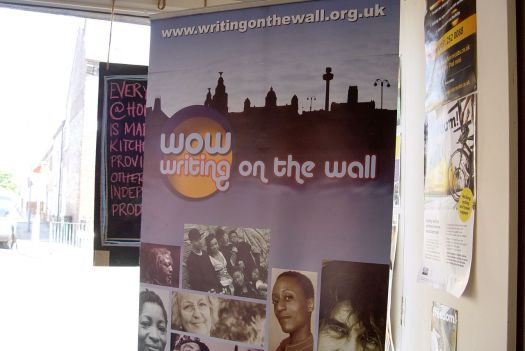 Part of the Writing on the Wall festival.