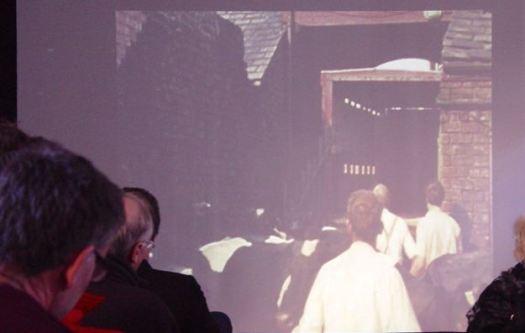 The last cows leaving Marlborough Road in 1975.