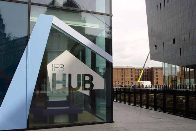 And across to the waterfront, to the IFB hub.