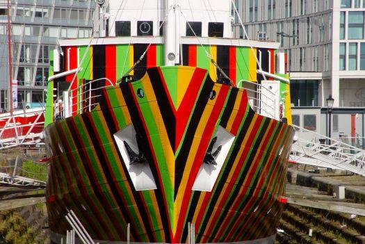 A Dazzle Ship.