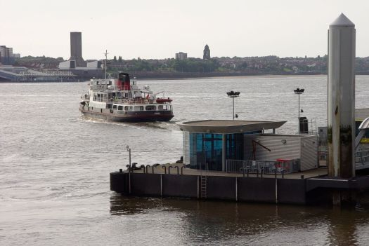 Most of those visitors surely taking a ride on the Ferry.