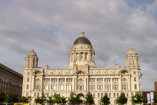 The Port of Liverpool Building.