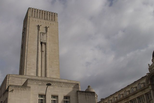 The Mersey Tunnel building, much more than a ventilation shaft.