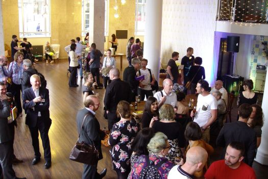 It's a lovely place, filling up. 150 people are arriving.