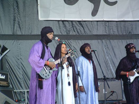 The mighty Tinariwen.
