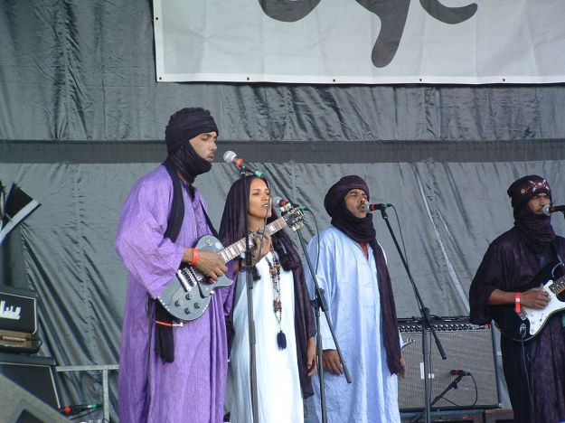 The mighty Tinariwen.