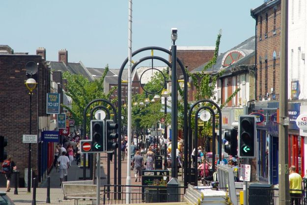 Liscard town centre.