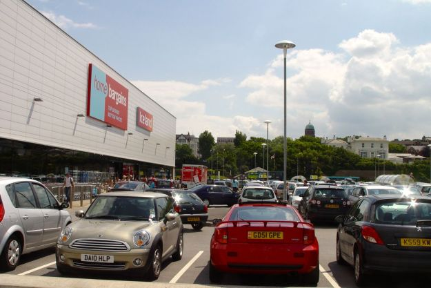 But the car park's full so obviously lots of people like it.