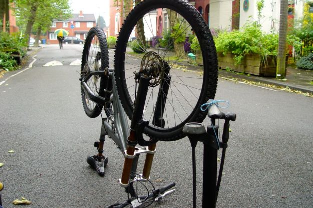 No bikes get repaired today.