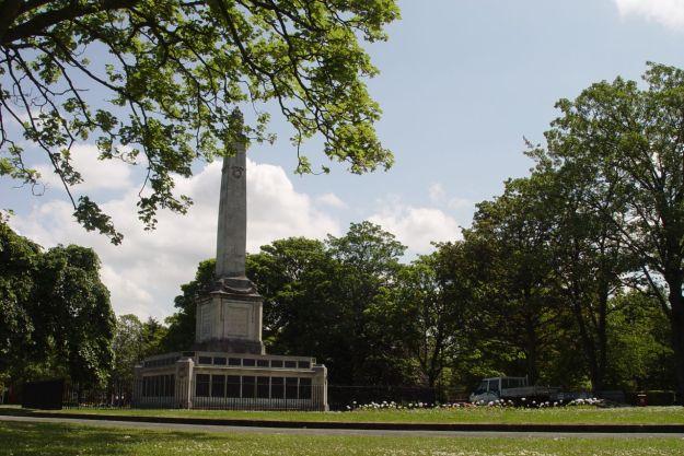 We find Victoria Park.