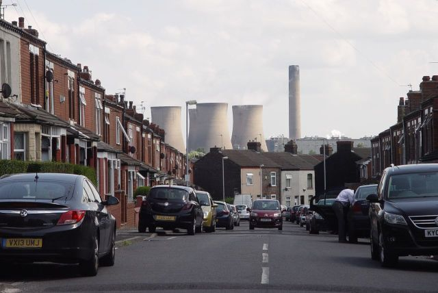 Apart from the occasional surprise view of Fiddler's Ferry Power Station.