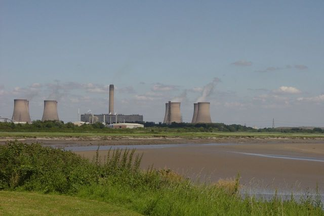 This will be where the new Mersey Gateway Bridge will soon cross the river.