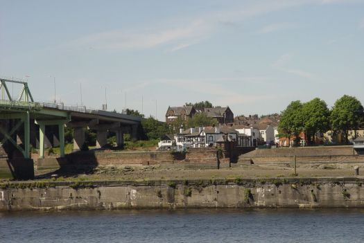 And this view of Widnes, where we've just been.