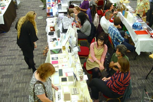 An Art Book fair and exhibition.