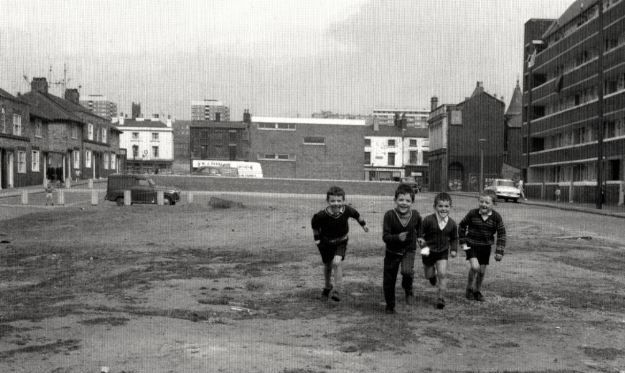 Benledi Street, Scotland Road, early 1970s.