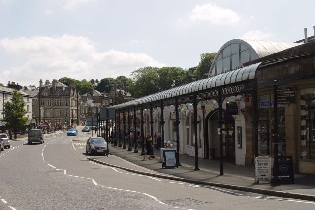 Pleasant streets, covered arcades.