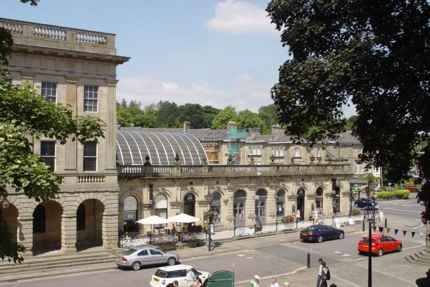Down the Slopes, the Buxton Thermal Baths.