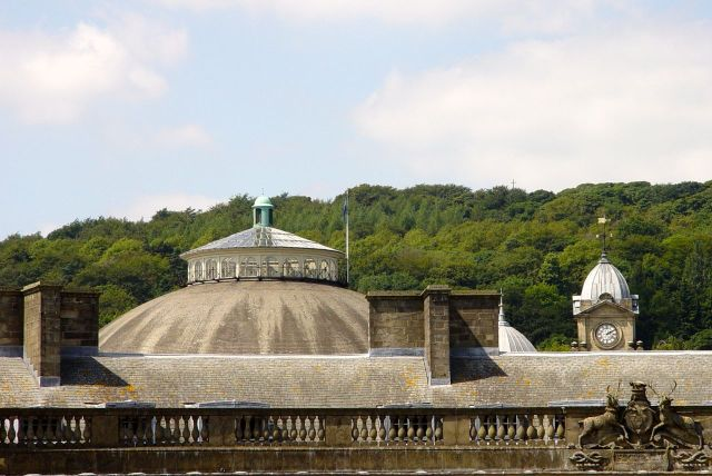 Meanwhile there's this dome to be investigated, as promised earlier.