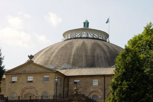 The Grade II listed Devonshire Dome.