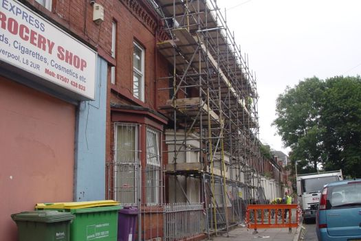In Beaconsfield Street there are Plus Dane builders.