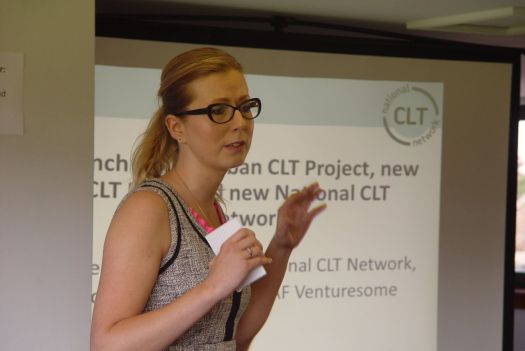 Catherine Harrington launches the National Community Land Trust Network.