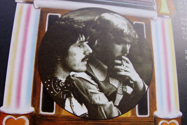 Derek Taylor with Harry Nilsson.