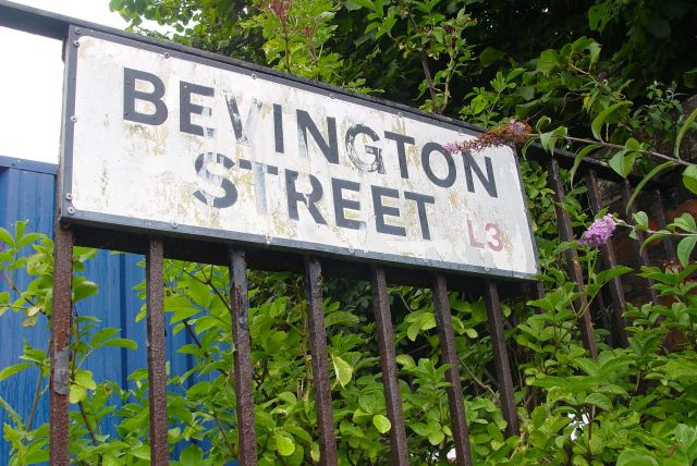 Here in Bevington Street.