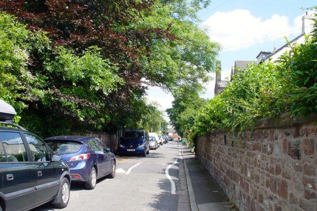 Turning up lovely Hunters Lane.