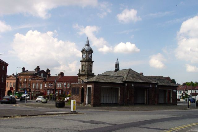 Past the Picton Clock at the top of Wavertree |High Street.