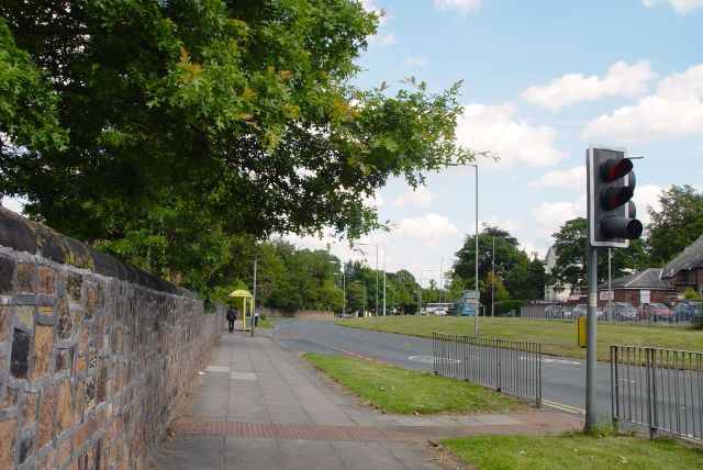 Along Childwall Road now.
