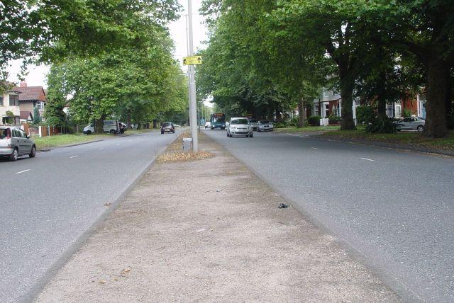 Then cross Menlove Avenue.