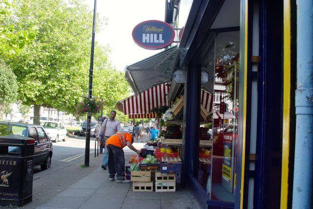 Past Adam's Apple greengrocer's.