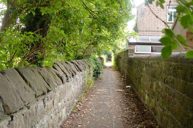 A secret lane.