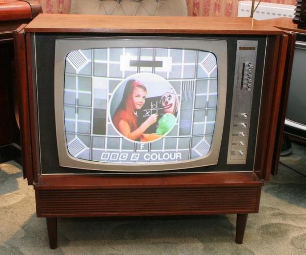 Colour TV has arrived.