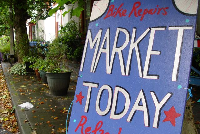 Granby 4 Streets Market, August 2014.