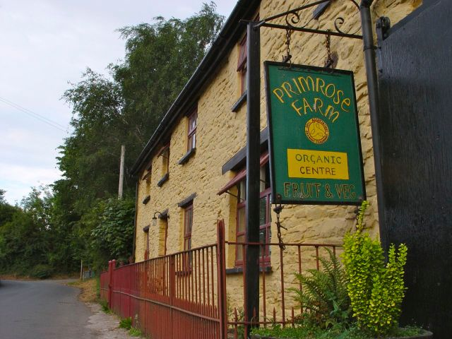 I stayed here, at Primrose Farm.