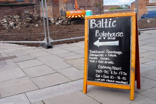 Introducing Baltic Bakehouse, Bridgewater Street, Liverpool.