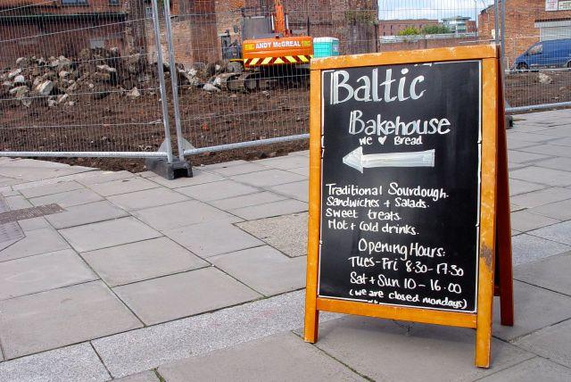 Introducing Baltic Bakehouse, Bridgewater Street, Liverpool.