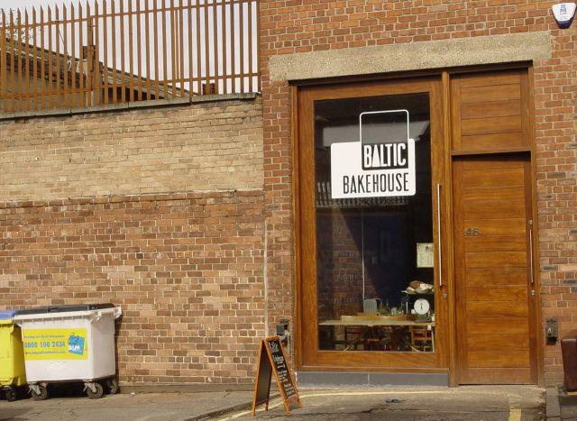The Bakery and Café.