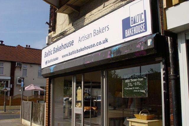 The Allerton Road shop.