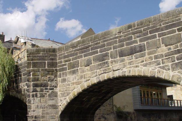 And meet Sarah by the bridge, Hebden Bridge.