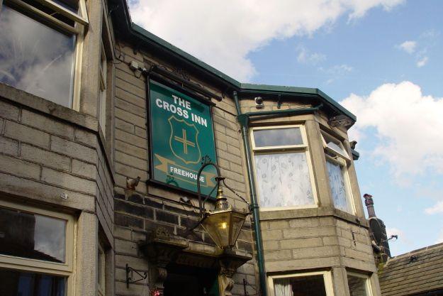 We go to the Cross Inn.